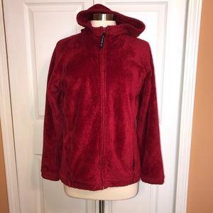 Fluffy fleece Avalanche full zip jacket Large